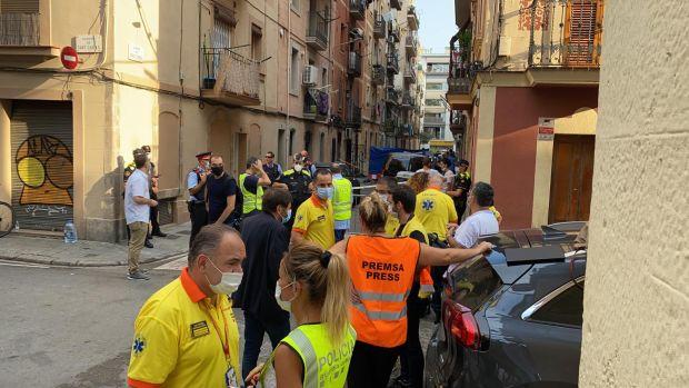 Tres fallecidos y un herido de gravedad en un incendio en la Barceloneta