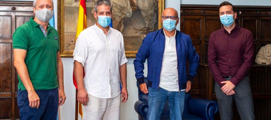 Manuel Baltar y Miguel González