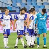 Real Zaragoza tras perder el play off de ascenso