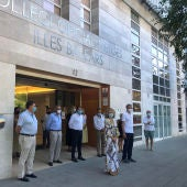 Minuto de silencio al primer médico fallecido en Baleares