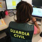 El Área de Investigación de la Guardia Civil de San Juan.