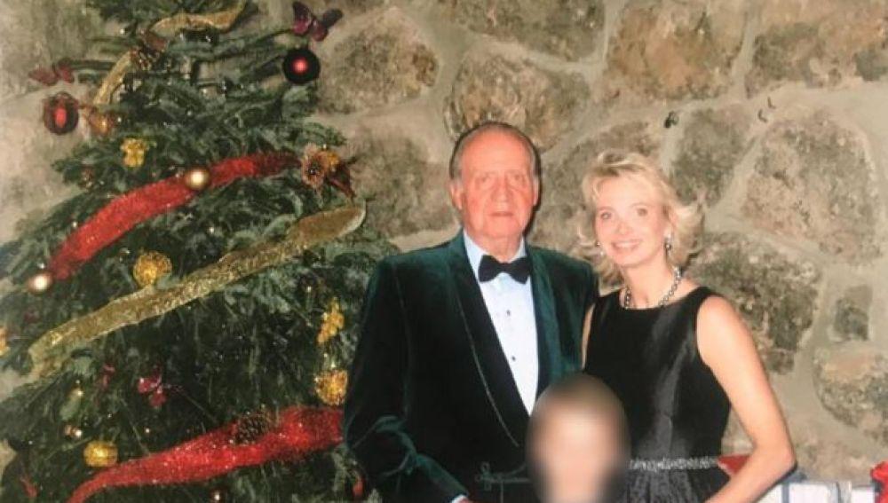 Juan Carlos I, Corinna Larsen y el hijo de esta
