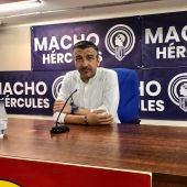 David Cubillo, entrenador del Hércules.