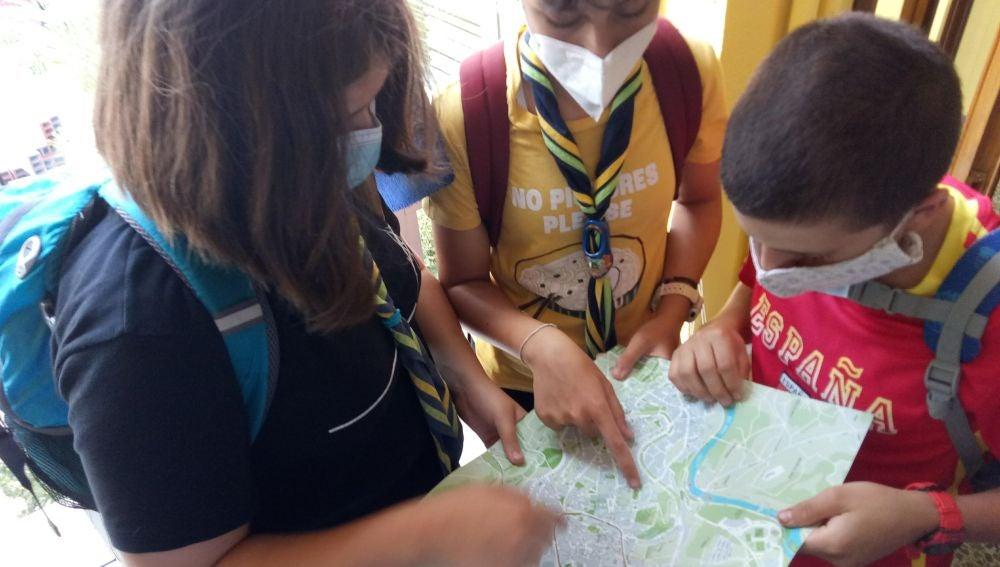 Scouts de Ourense en Lugo
