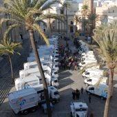 Camiones de basura de Cádiz