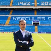 Carmelo del Pozo, director deportivo del Hércules.
