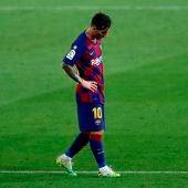 Guardiola habló hace dos días con Messi y le planteó la opción de que se marche al Manchester City