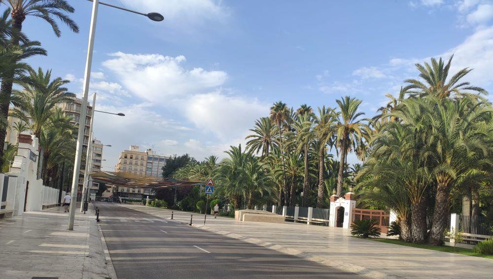 Paseo de la Estación de Elche.