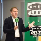 El economista Daniel Lacalle en un encuentro con empresarios celebrado en Palma, organizado por Onda Cero y CaixaBank.
