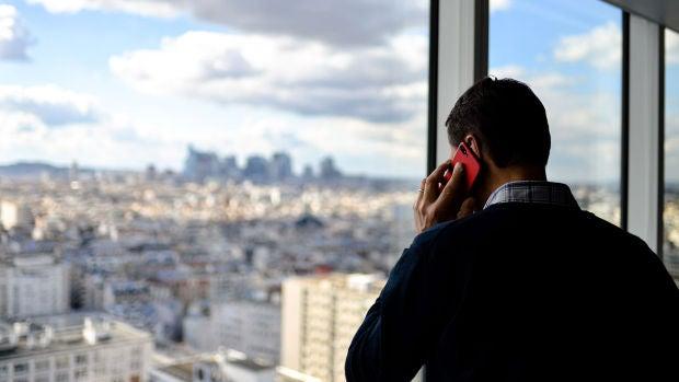 Llamando con el móvil