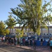 Entrada Colegio Dulcinea Alcalá de Henares