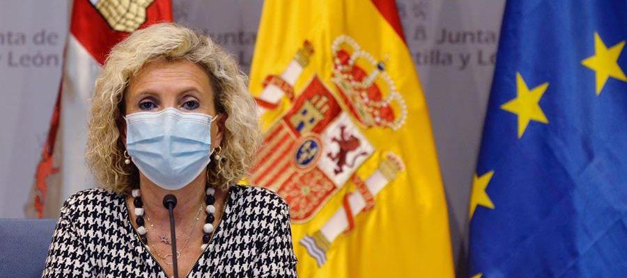 La consejera de Sanidad de la Junta de Castilla y León, Verónica Casado