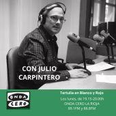 Tertulia en Blanco y Rojo con Julio Carpintero