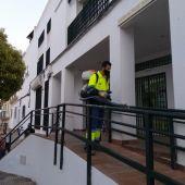 Operario de limpieza en Chiclana