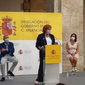 Gloria Calero durante una comparecencia (archivo)