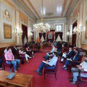 Pleno en el ayuntamiento de Alcalá de Henares