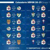 Calendario Deportivo 20-21