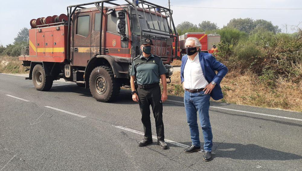 Material contra incendios en Ourense