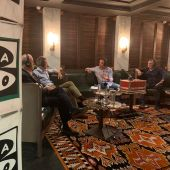 José Ramón de la Morena entrevista a Vicente del Bosque, Jorge Valdano y José Antonio Camacho.