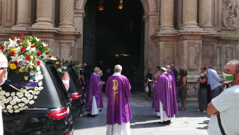 Funeral de Joaquín Serrano en la basílica de Santa María de Elche.