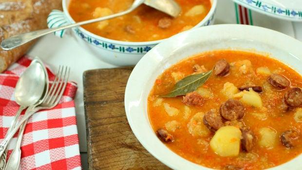 """Las recetas de Robin Food: Patatas con chorizo """"Marisol"""""""
