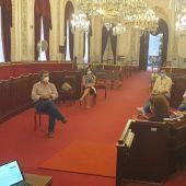 Reunión en el Ayuntamiento de Cádiz