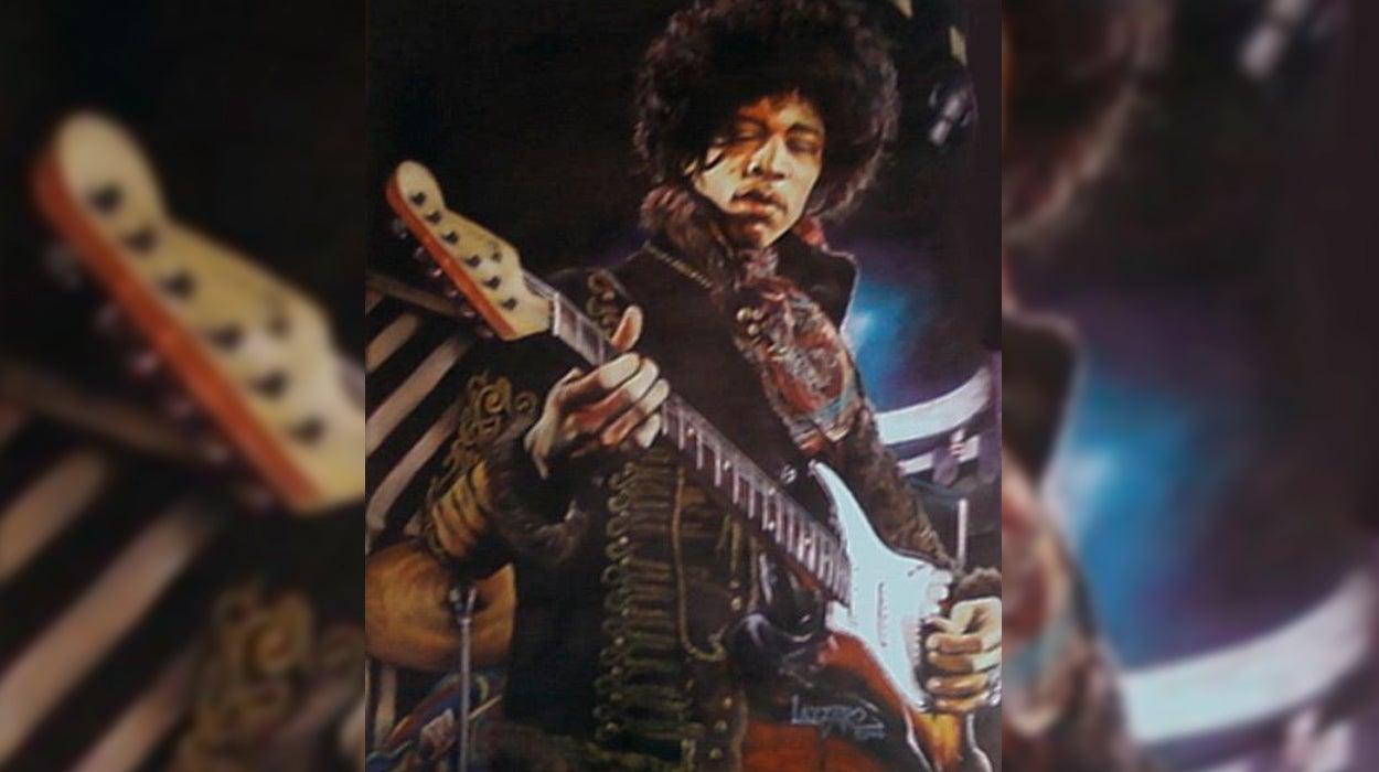 J.F. León recuerda a Jimi Hendrix en el 50 aniversario de su muerte