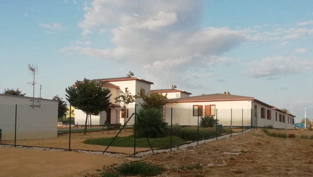 Casas en el 'Pueblo Científico' de la Universidad Miguel Hernández de Elche.