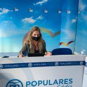 Ana Mestre, presidenta del PP de Cádiz