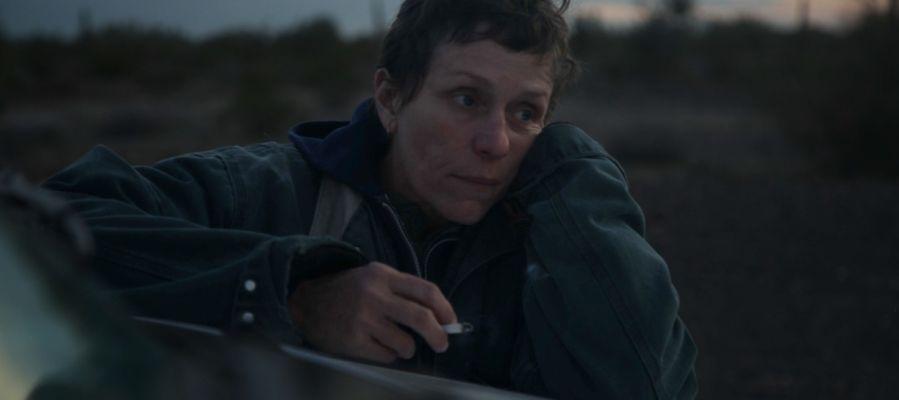 La actriz Frances McDormand, en un fotograma de la película 'Nomadland'