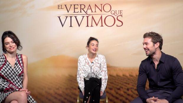 """María Pedraza, Carlos Cuevas y Guiomar Puerta: """"Todos queremos vivir historias de amor épicas"""""""