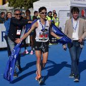 El atleta español Javi Guerra.