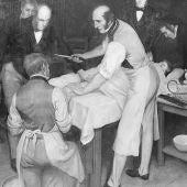 El cirujano Robert Liston