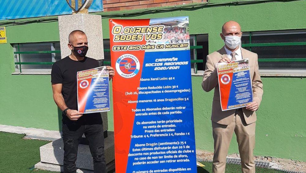 Campaña de Abonados UD Ourense