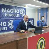 La presentación de la campaña de abonos del Hércules.