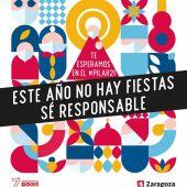 Cartel de las No Fiestas del Pilar