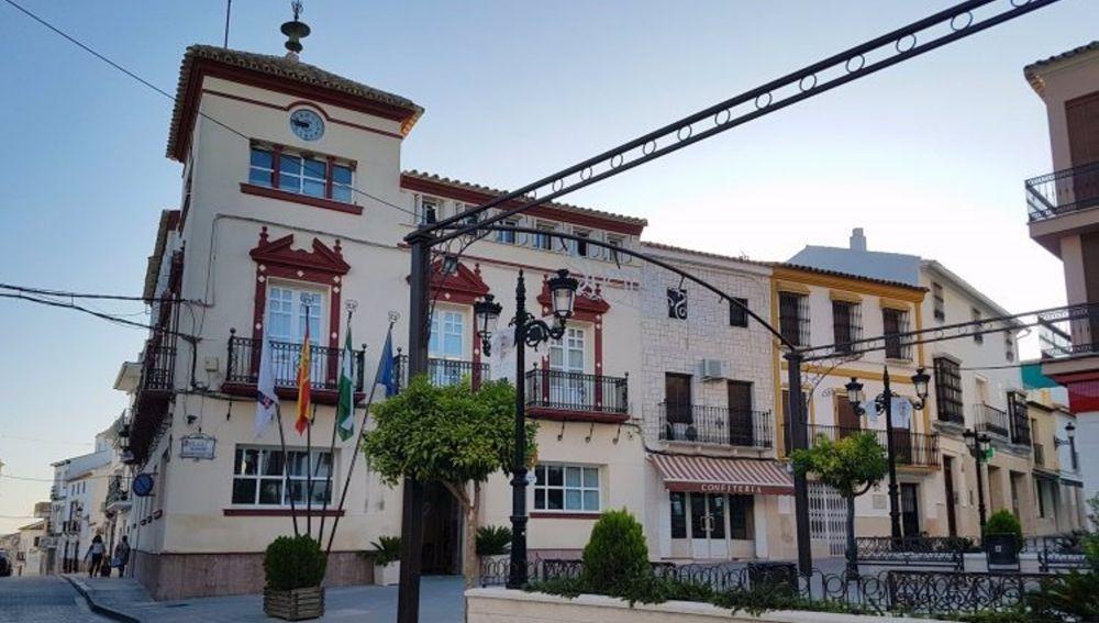 Fachada del Ayuntamiento de Casariche