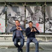 Giseppe Grezzi y Josep Enric García