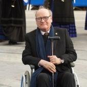 Quino en 2014 antes de la ceremonia de los Premios Príncipe de Asturias