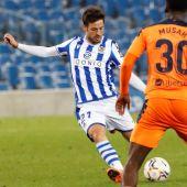 El jugador de la Real Sociedad, David Silva.