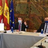 García-Page y Ábalos han mantenido una reunión en Toledo