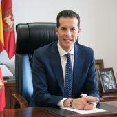 Rubén Alfaro, alcalde de Elda.