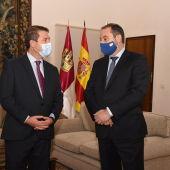 García-Page y Ábalos han celebrado una reunión en Toledo