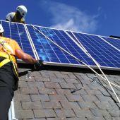 Proceso de instalación de placas solares