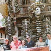 Poblado Toraja en Indonesia