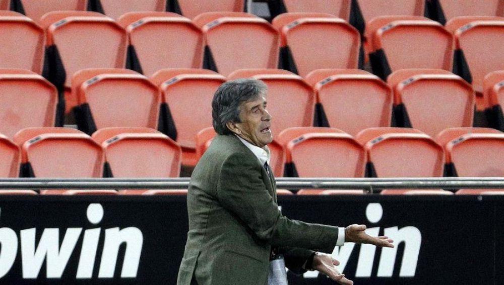El entrenador del Betis, Manuel Pellegrini.