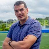 Esteban, portero del Real Oviedo.