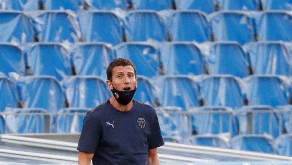 El entrenador del Valencia, Javi Gracia.