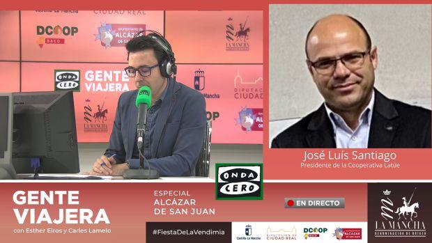 """José Luis Santiago: """"Europa ha descubierto que nuestros vinos tienen una calidad muy buena"""""""
