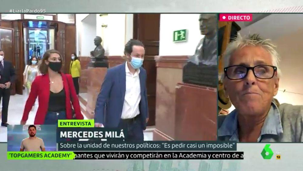 """La defensa de Mercedes Milá a Iglesias: """"Todo lo que se está consiguiendo en terreno social en un momento tan delicado es de agradecer"""""""